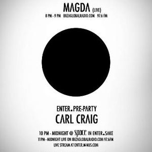 Magda - Live @ Enter.Radio, Ibiza Global Radio, Espanha (02.08.2012)