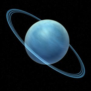 The Hypnotic Blue Of Uranus