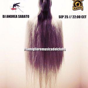 VITAMINA Dj Andrea Sabato on IN PROGRESS RADIO (Amsterdam) 25.09.16