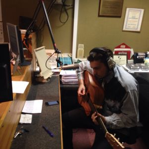 Chester indie band Idle Frets frontman Ben Davies performs live acoustic set on Radio Clatterbridge