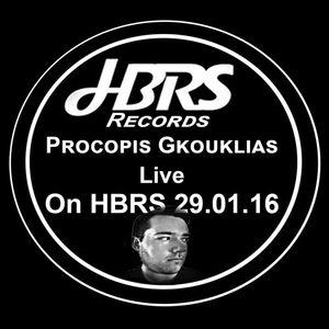 Procopis Gkouklias Live On HBRS 29-01-16