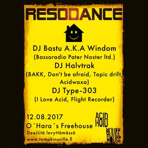 Resodance Pre-Party Mini Mix (Vinyl Only)