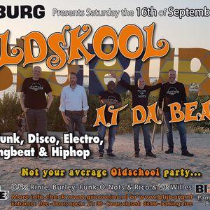 Oldskool @ Tha Beach - Live - Vinyl - 16th of September 2017 - Blijburg Amsterdam - DJ's Groove Inc.
