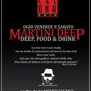 MENNY FASANO @ BARCELONA CAFE' - MARTINI DEEP [16.11.2012] PART 2
