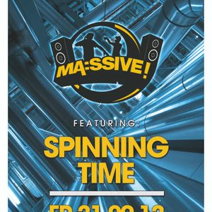 DJ ARSONIST - MASSIVE MEETS SPINNING TIME PROMO
