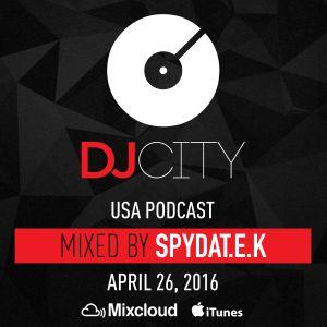 SpydaT.E.K - DJcity Podcast - Apr. 26, 2016