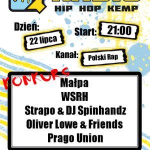 RHHK 2012:  MAŁPA, WSRH,  STRAPO, DJ SPINHANDZ, OLIVER LOVE, PRAGO UNION