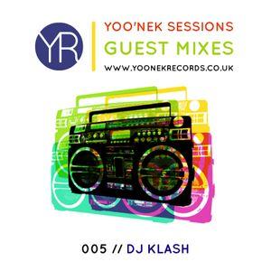 Yoo'nek Sessions // The Guest Mixes // 005 DJ Klash