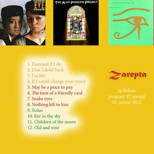 Zarepta No 87 The Alan Parsons Project part 2
