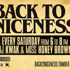 Back To Niceness 01/09/12