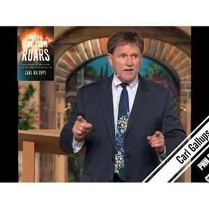 """Carl Gallups """"When The Lion Roars"""" Prophecy is happening NOW!!!"""