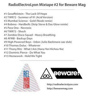 RadioElectroLyon Mixtape #2 for Beware Mag