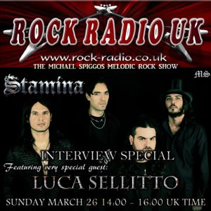 The Michael Spiggos Melodic Rock Show feat. Luca Sellitto (Stamina) 26.03.2017
