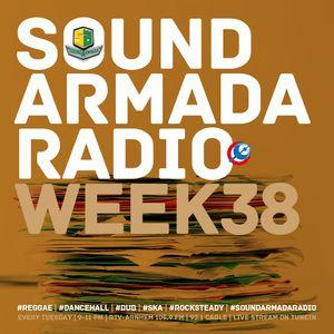 Sound Armada Reggae Dancehall Radio Show Week 38 - 2016