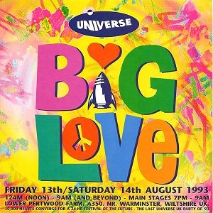 David Morales @ Universe - Big Love, Warminster UK - 13.08.1993