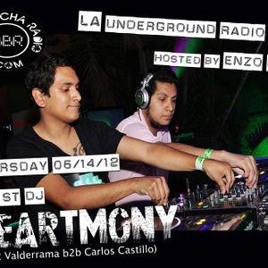 LA Underground Radio Show w/ HEARTMONY (Isaac Valderrama b2b Carlos Castillo) hosted by Enzo Muro