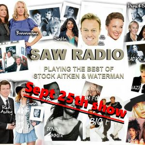 The Saw radio Show Sept 25th (part 1)