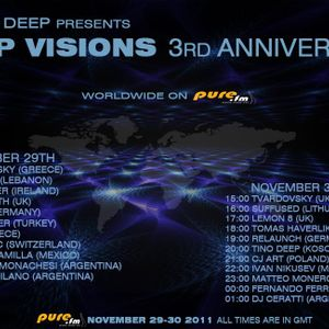 Simon Firth - Deep Visions 3 Year anniversary guest mix - Pure Fm