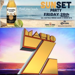 "DJ MARIO Z ""CORONA SUNSET PARTY"" MARBELLA SUMMER 2015"