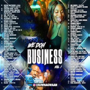 VA-Dj WhaGwaan - We Doh Business Vol. 1 (Promo Cd) 2017