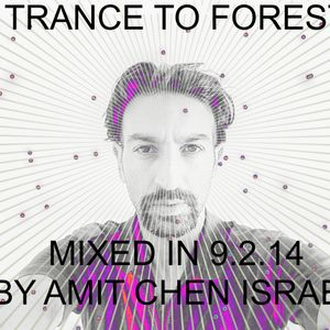trance to forest mixed in 9.2.14 by amit chen israel