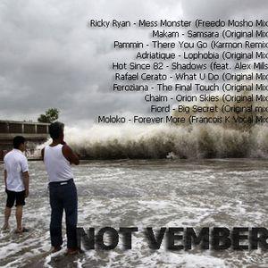 Sean Martin -  Not Vember (november 2013 mix)
