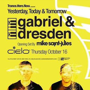 Gabriel & Dresden Live At Cielo, NYC 10 - 16 - 14