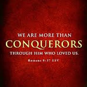 YOU ARE MORE THAN A CONQUEROR. Pat Fitzgerald on UCB Ireland Radio.