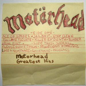 Motorhead - Greatest Hits - SideA [Sony HF 46]