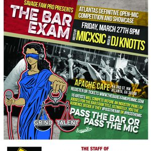 Bar Exam Early Warm and Round 1 Freestyle