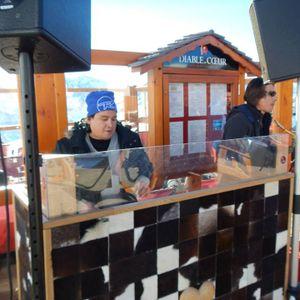 JERÔME LEFEBVRE & ANTOINE BOST(SAX)@LIVE AU DIABLE AU COEUR-SNOWROOFTOP TOUR 15/02/2015-LES 2 ALPES
