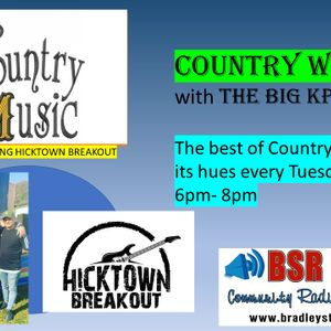 Country West with the Big KP Show 10 17 September 2019 (Interview with Hicktown Breakout)