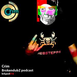 Crim - Brokendubz Podcast016
