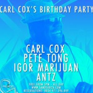 Carl Cox - Live at Carl Cox Bday Party (Sands Ibiza) - 30.07.2012