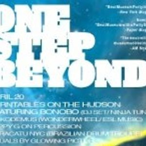 Nickodemus ONE STEP BEYOND LIVE mix 4.20.12 @ Earth & Space Hall NYC