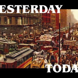 today and yesterday
