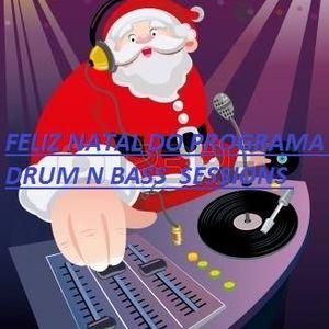 PROGRAMA DRUM N BASS SESSIONS ESPECIAL DE NATAL COM DJK DIA 21/12/2016