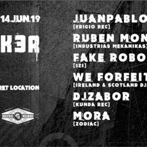 WE FORFEIT (Mix 15) :: Bunk3r @ Utopia — Madrid 14.06.19