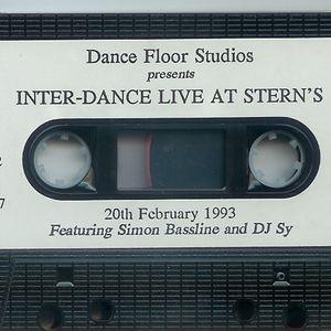 SIMON BASSLINE SMITH & DJ SY - Sterns 20.02.93