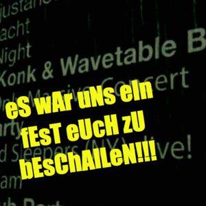 Major KonK the Wavetable Band Live HDO 09 04 16 BDAY BASH