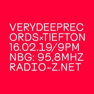 VERYDEEPRECORDSxTIEFTON 16/02/2019 @ RADIO Z