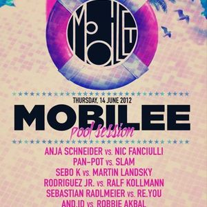 Ray Okpara vs David Labeij  @ Mobilee Pool Session - Off Sonar 2012, 14-06-2012