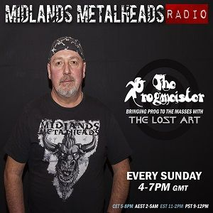 The Lost Art with The Progmeister   16th July 2017