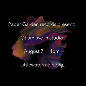 Paper Garden Radio @ Little Water Radio 8/7/16 (rev)