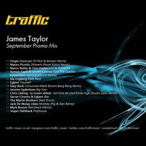 James Taylor - September Promo Mix
