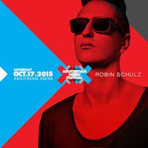Robin Schulz Live @ Amsterdam Music Festival (ADE) 17/10/2015
