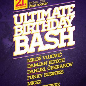 Miozz @ Ultimate Birthday Bash 21.09.2012.