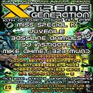 Play Hardcore Dj Dunn - E & Delgado Mc Host X - Treme Generation Batman Fancy Dress Party Promo Mix