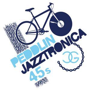 DJ Chicken George - Peddlin' 45s Mix no. 5 (Cool Blue Jazztronica! Edition)