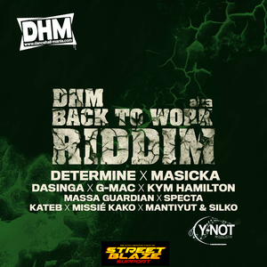 Back To Work Riddim MIX by Gacek Killah  (Dancehall-Mania-Y-Not Productions)